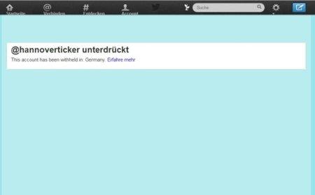 Twitter bloquea el acceso (desde Alemania) a la cuenta de un grupo neonazi ilegalizado