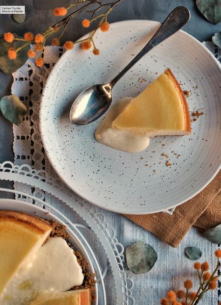 Tarta de queso estilo Coulant