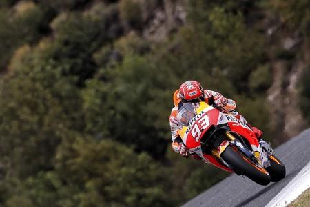 """Marc Márquez, decimocuarto en Jerez: """"Nos ha tocado sacrificar el entreno pero tenemos cosas positivas"""""""