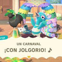 Animal Crossing: New Horizons recibirá una actualización esta semana con la que dará la bienvenida al Carnaval en febrero