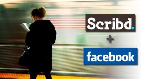 Scribd + Facebook: Leer, ahora más social