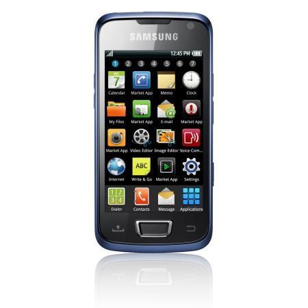 Samsung i8520 Beam, su pico proyector en funcionamiento