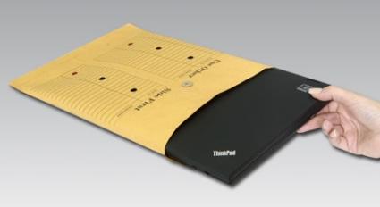 Lenovo se apunta a la moda de sacar portátiles de sobres de Manila
