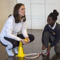 Kate Middleton está guapa hasta en chándal