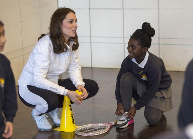 Kate Middleton En Chandal 1