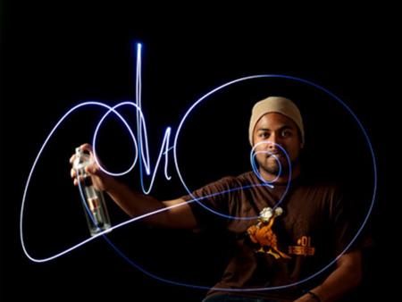 Imagen de la semana: graffitis con luces LED