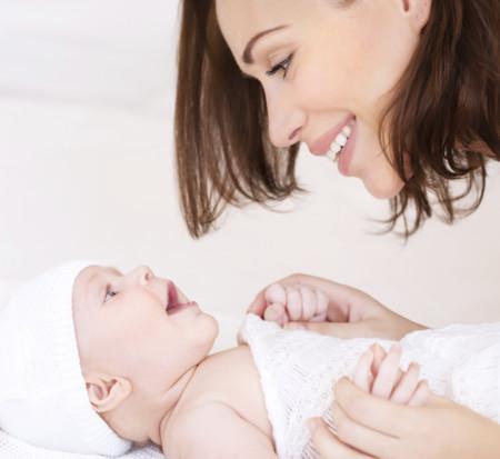 Mama Y Bebe Felices