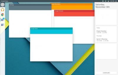 Material Design se acerca a Linux de la mano de Quantum OS, la imagen de la semana