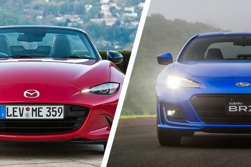 Mazda MX-5 vs Subaru BRZ: Analizamos a quienes demuestran que la agilidad puede divertir tanto como la velocidad