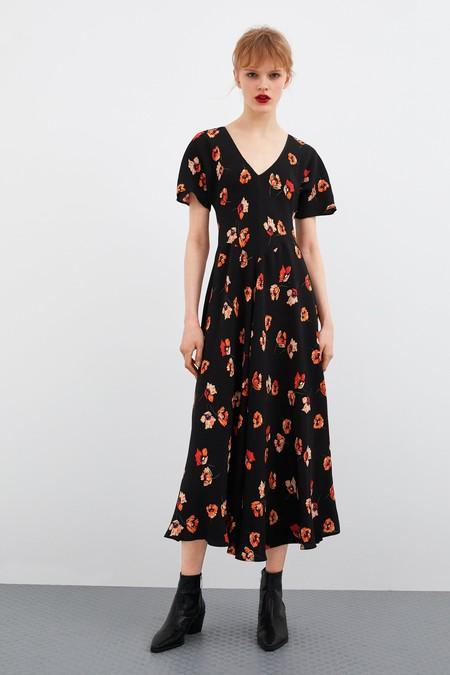 Zara Vestidos Flores 11