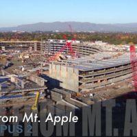 Nuevo vídeo a vista de dron: todas las estructuras del Campus 2 ya han tomado forma