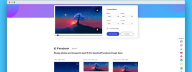 Redimensiona cualquier foto o imagen al tamaño perfecto para todas las redes sociales