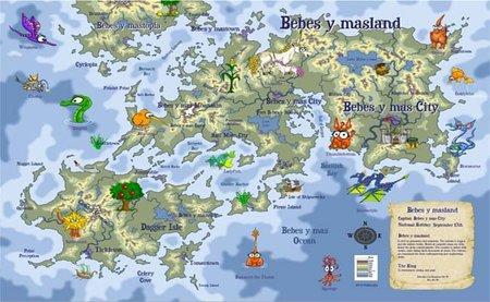 Mapas personalizados por los peques