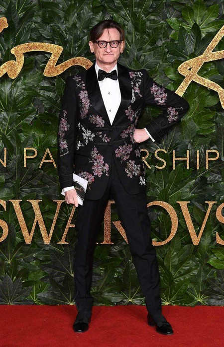 Hamish Bowles Alfombra Roja Red Carpet British Fashion Awards 2018