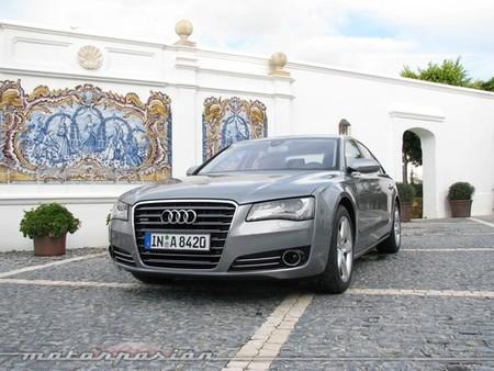 Audi A8, presentación en Marbella (parte 2)