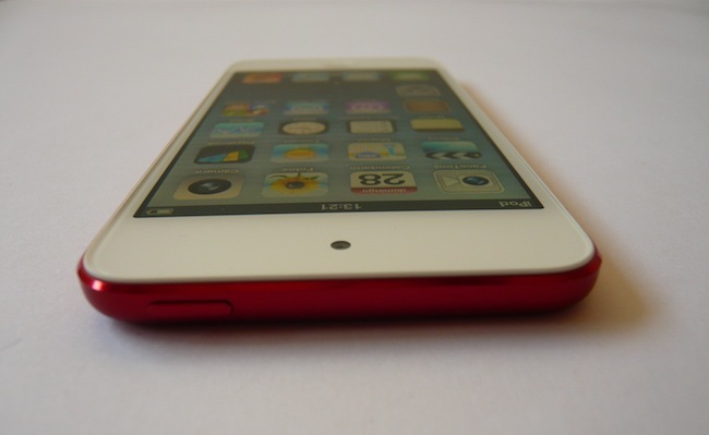 iPod touch 2012 camara abajo