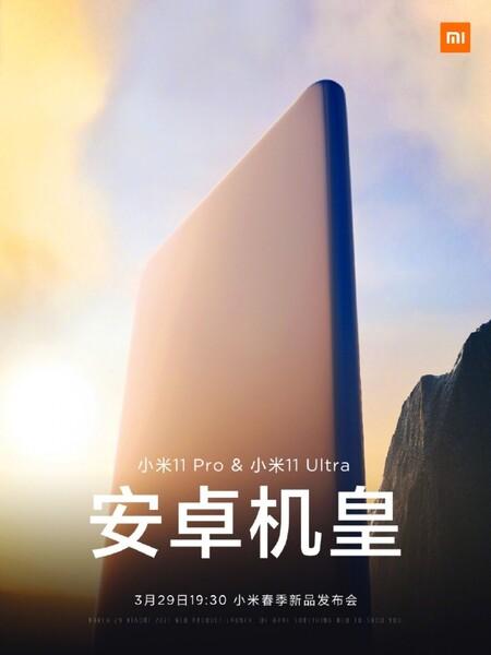 Xiaomi Mi 11 Pro Ultra Fecha Presentacion China 29 Marzo 2021