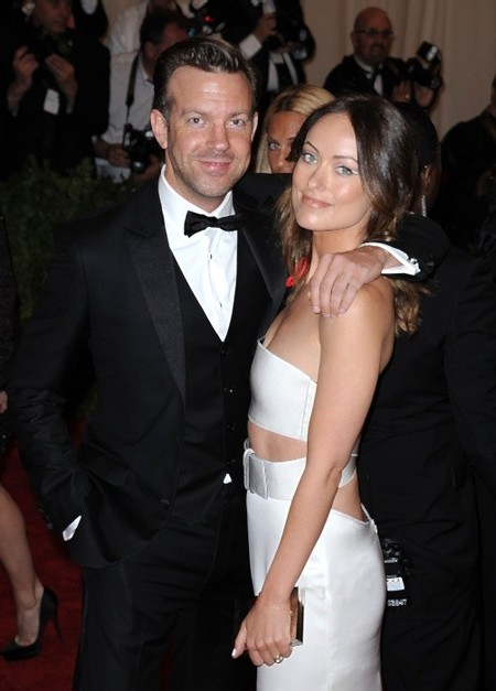 Jason Sudeiki and Olivia Wilde