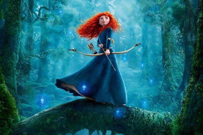 Una imagen de la protagonista de Brave
