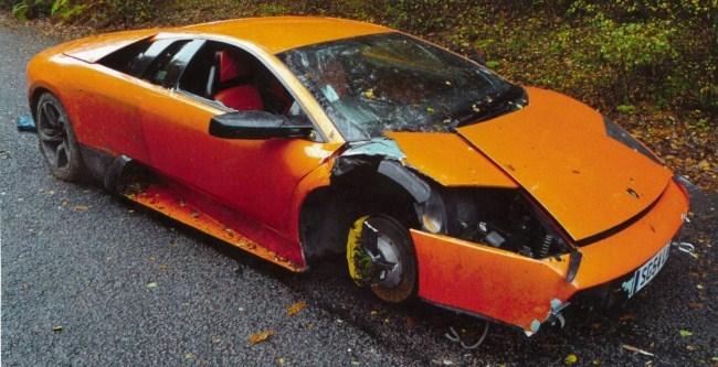 Accidente Lamborghini Murciélago