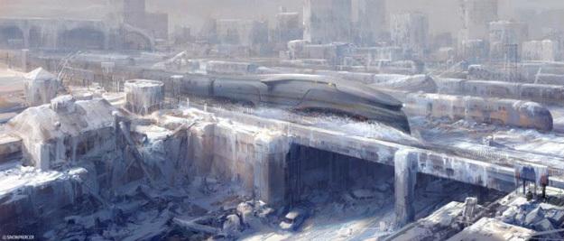 'Snowpiercer', diseño conceptual de la película de Bong Joon-ho