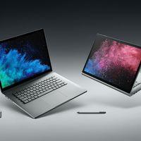 Ya puedes comprar en España el Surface Book 2 en la versión de más tamaño con pantalla de 15 pulgadas
