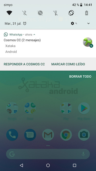Marcar Leído Whatsapp