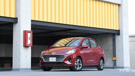 Hyundai Grand i10 Sedán 2021 (prueba)