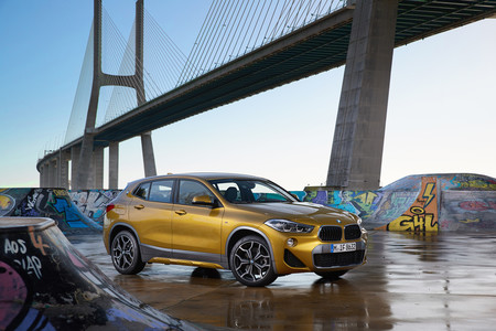 BMW X2 delantera lateral