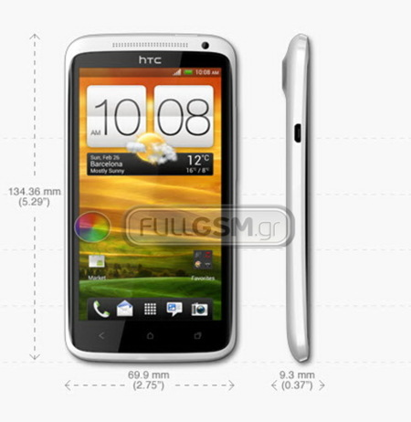 HTC One X especificaciones