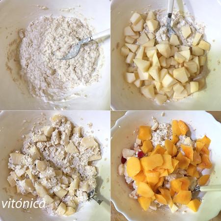 Bircher Muesli Suizo De Avena Yogur Y Frutas Receta Saludable Sencilla Y Deliciosa