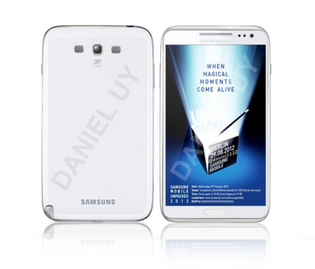 Samsung Galaxy Note 2 render leak