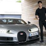 Cristiano Ronaldo da el aprobado al Bugatti Chiron de 1.500 CV en este vídeo (y de paso se compra uno)