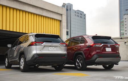Consumo híbrido Toyota RAV4 México 1 15