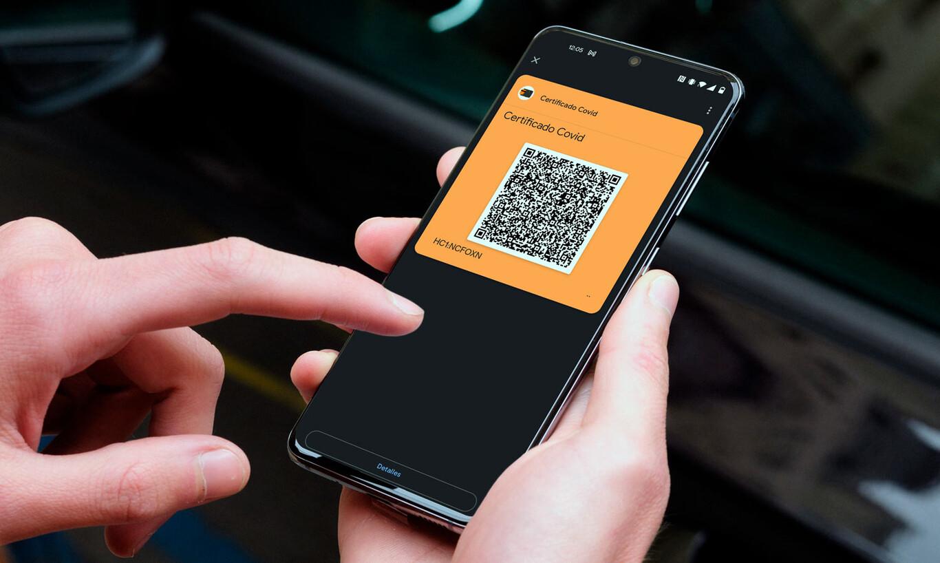 Cómo instalar el Certificado Covid en Google Pay para tenerlo siempre disponible