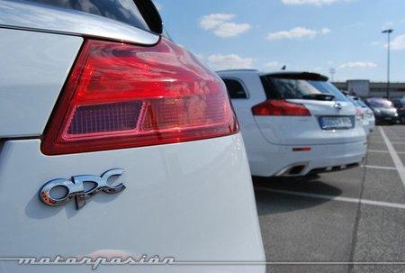 Opel Insignia OPC Unlimited, presentación y prueba en Alemania (parte 2)