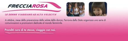 Durante octubre, las mujeres viajan gratis en los trenes italianos