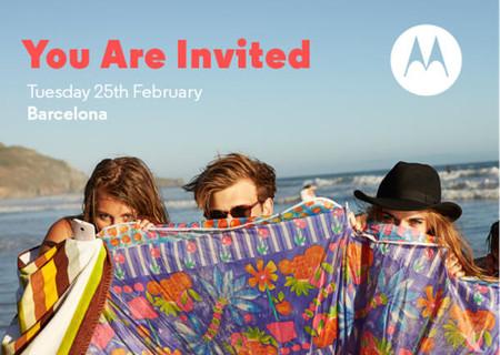 Motorola anuncia evento de prensa para el MWC 2014 ¿veremos nuevos dispositivos?