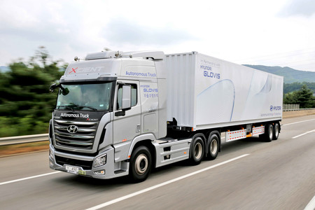 Hyundai S First Domestic Autonomous Truck 33