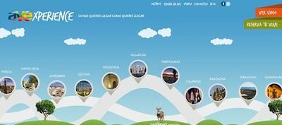 AVExperience, viajes personalizados por las ciudades AVE