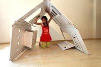 Casas de juguete desplegables para niños