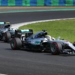 Trabajada victoria de Lewis Hamilton por delante de Nico Rosberg en Hungría