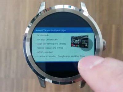 Cómo ver documentos en tu reloj Android Wear