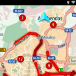 Con esta aplicación de TomTom se deberían reducir los accidentes ante atascos imprevistos