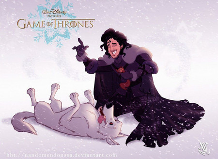 Game Of Thrones Disney Style Illustration Combo Estudio 1 5aafaa8a03c46 880