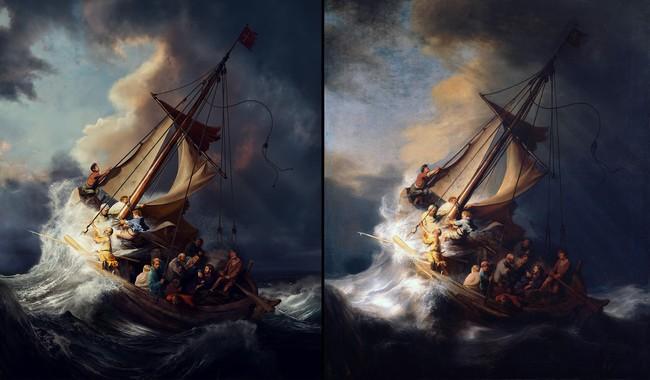¿Cuál es un Rembrandt original y cuál se ha creado con Photoshop?
