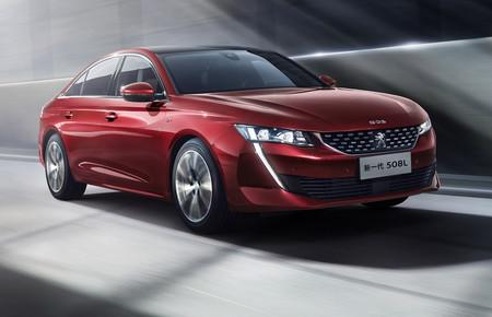 Así es el Peugeot 508 L de batalla extendida, 10 centímetros más largo que el normal y sólo para China