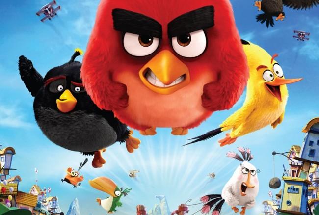 Cartel Angry Birds La Pelicula