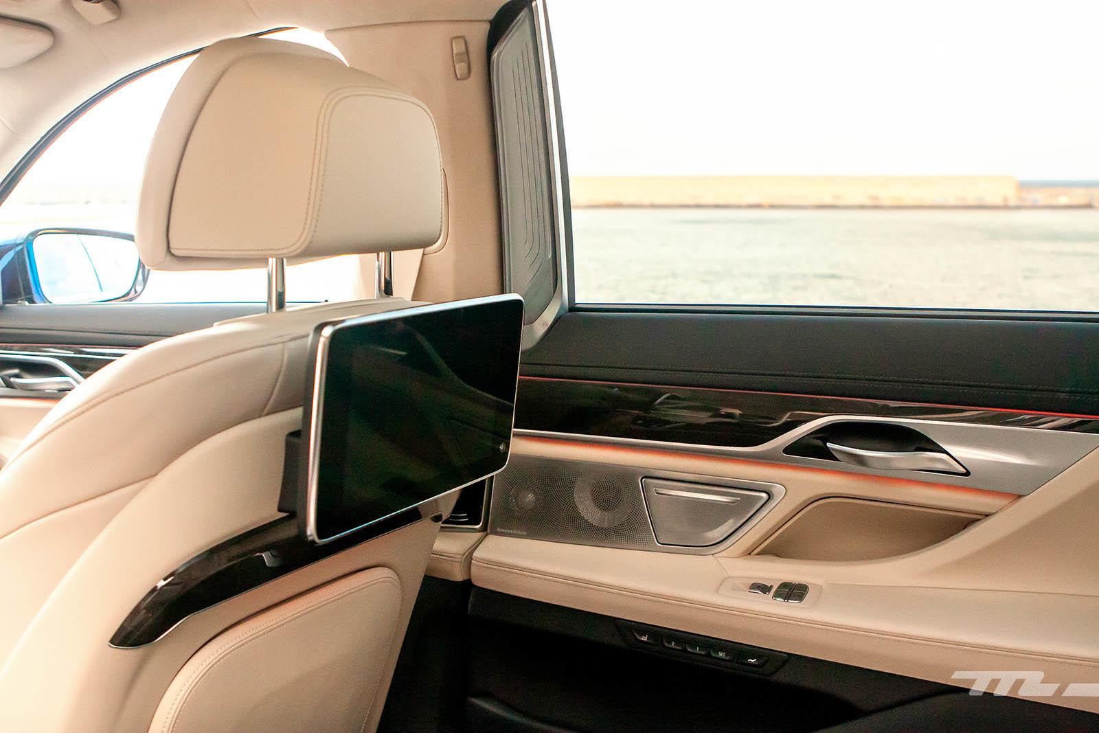 BMW 745Le 2020 prueba contacto