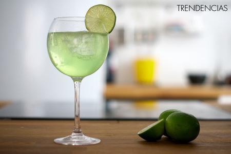 Cócteles de San Patricio: Gin Tonic de lima